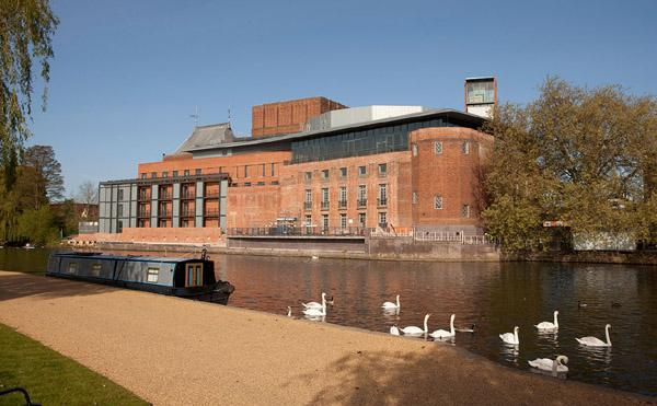 RSC Theatre - River Avon View